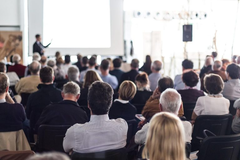 Eight steps to draw a big crowd and even sell out your next presentation, speech, lecture, or public speaking event