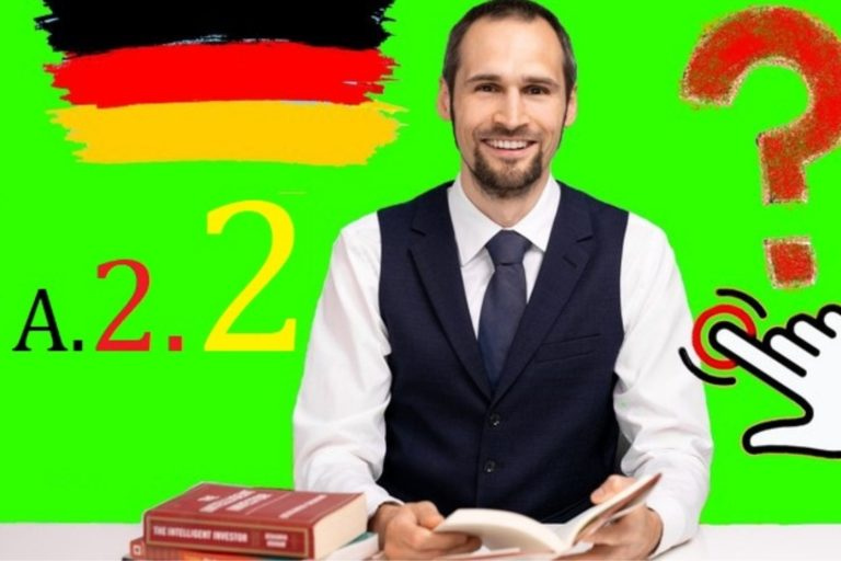 Learn German A2 language grammar made easy in English for beginners.
