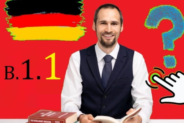 Learn German B1 Language Grammar made easy in English for beginners: Complete German Language course