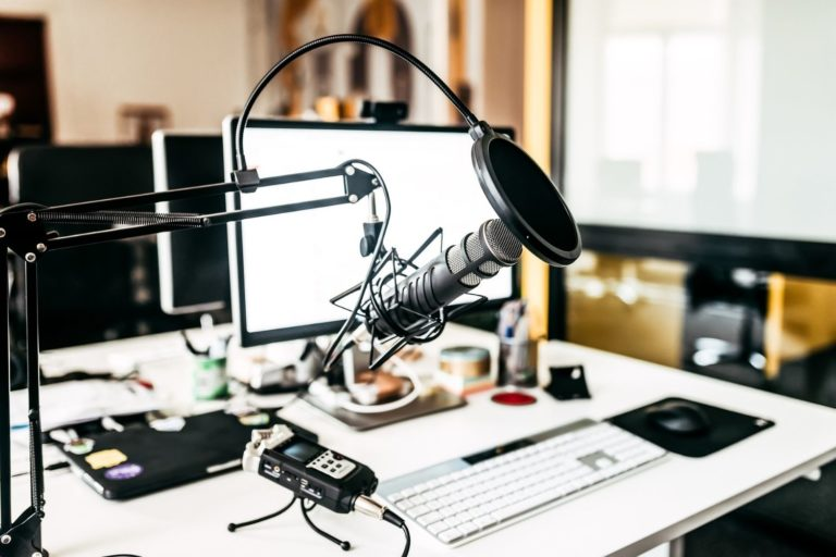 For online courses live streaming and podcasts