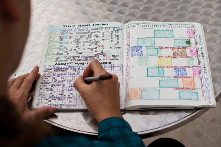 After hours of staring at a screen, do you crave your creative side while still getting things done? Try journaling.