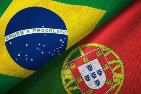 Portuguese phrases in video and PDF lessons.